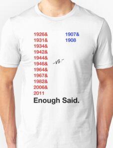 Cardinals Vs. Cubs Unisex T-Shirt