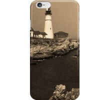 Lighthouse - Portland Head, Maine iPhone Case/Skin