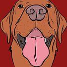 Happy Labrador by rmcbuckeye