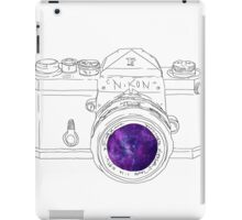 Vintage Galaxy Camera Art iPad Case/Skin