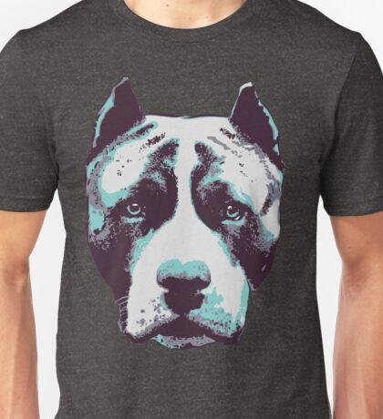 Blue Pit Bull  Unisex T-Shirt
