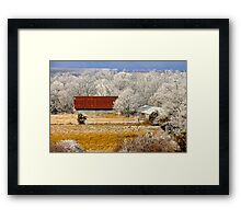 Country Charm ~  Framed Print