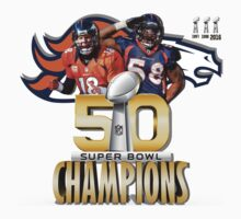 Denver Broncos Superbowl champions Kids Tee