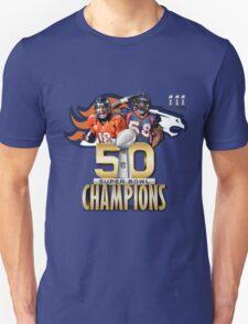 Denver Broncos Superbowl champions T-Shirt