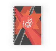 Avatar - Fire Spiral Notebook