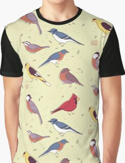 Backyard Birds Graphic T-Shirt