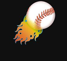 Flaming Baseball Unisex T-Shirt