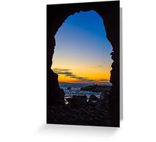 Cave with a View  Greeting Card