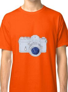 Vintage Galaxy Camera Colored Classic T-Shirt