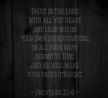 Proverbs 3:5-6 by Gloria Lam