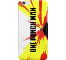 One Punch Man final interlude  iPhone Case/Skin