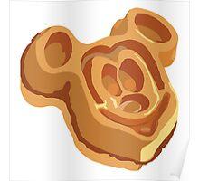 Mickey Waffle! Poster