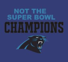Carolina Panthers Champions Super Bowl 50 2016 by iamacreator