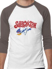 Super Chicken Men's Baseball ¾ T-Shirt