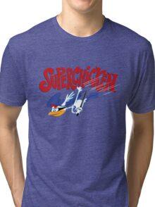 Super Chicken Tri-blend T-Shirt