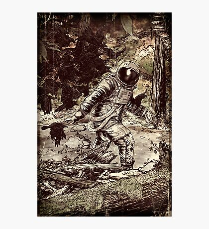 Spaceman Photographic Print