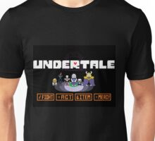 A nice Undertale-inspired image created for you all! Unisex T-Shirt