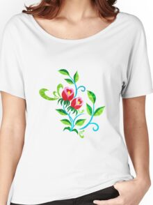 Tulips Color Women's Relaxed Fit T-Shirt