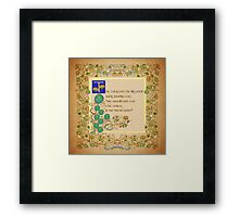 The Frogs Sang Loudly Framed Print