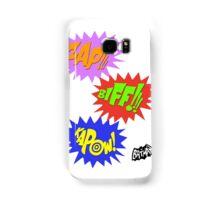 Zap!!! Biff!!! Kapow! Samsung Galaxy Case/Skin