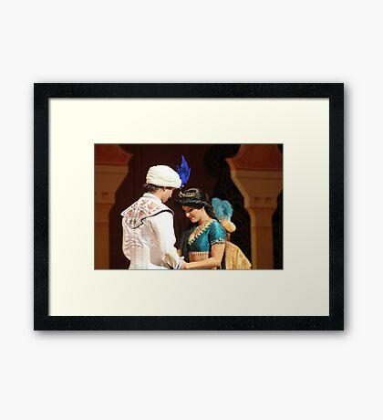 Aladdin's final performance Framed Print