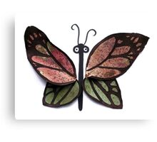Leafy Butterfly Canvas Print