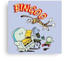 bingoo Canvas Print
