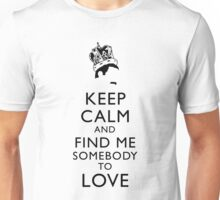 Freddie Mercury Keep Calm Unisex T-Shirt