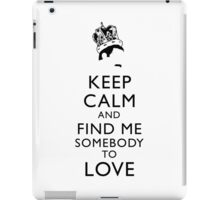 Freddie Mercury Keep Calm iPad Case/Skin