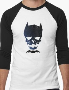 Justice Skulls - The Dark Men's Baseball ¾ T-Shirt