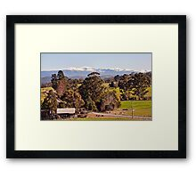 Hartz Mountains from Judbury Framed Print