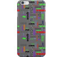 """Gamer Tags - COLORS""© iPhone Case/Skin"