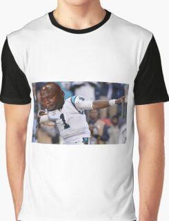 Dabbing the Pain Away (Cam Newton Superbowl 50 Loss) Graphic T-Shirt