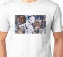 Dabbing the Pain Away (Cam Newton Superbowl 50 Loss) Unisex T-Shirt