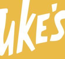 Gilmore Girls - Luke's Diner Sticker