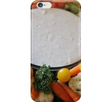 Vegetable Medley and dip iPhone Case/Skin