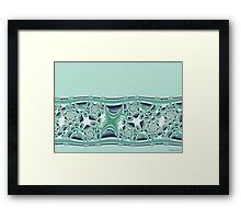 Seaside Wallpaper Framed Print