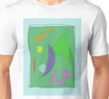 Green Farm Purple Moon Unisex T-Shirt