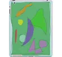 Green Farm Purple Moon iPad Case/Skin