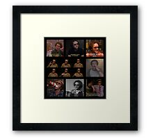 Hyde Quotes Framed Print