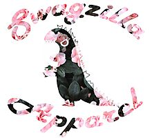 Cherry Flower Swagzilla Apparel Logo Photographic Print