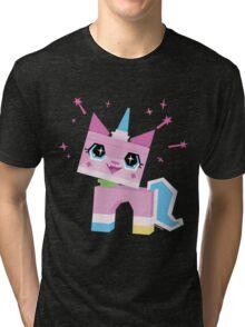 Unikitty Tri-blend T-Shirt