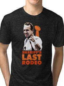 Sheriff's Last Rodeo Tri-blend T-Shirt