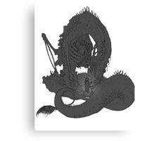 Eldritch Abomination Billdip Canvas Print