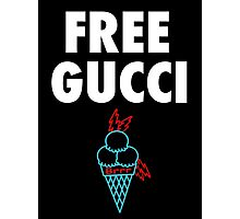 FREE GUCCI Photographic Print