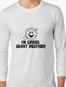"Funny Quote ""Cirrus Cloud Geek Nerd Boffin"" Long Sleeve T-Shirt"