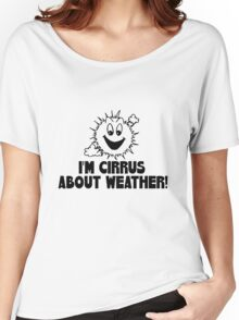 """Funny Quote """"Cirrus Cloud Geek Nerd Boffin"""" Women's Relaxed Fit T-Shirt"""
