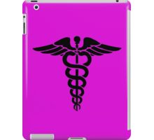 Nurse angle breast cancer iPad Case/Skin