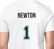 CAM NEWTON NUMBER 1 CAROLINA PANTHERS DARK Unisex T-Shirt