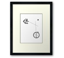 Astral Miscalculation  Framed Print